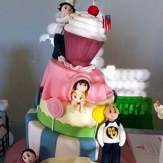 Ele in cakeland's cake - Cake by Eleonora Del Greco