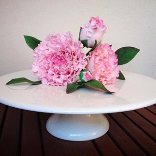 My Peony Sugar Flowers