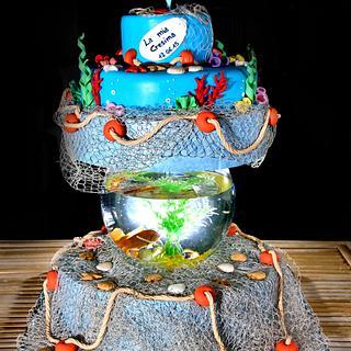 Sea Parfum.... - Cake by Rosalba Pirrone