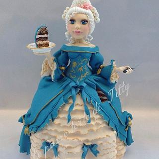 cake lady - Cake by Titty