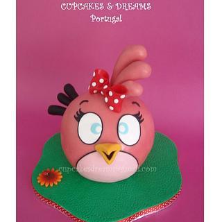 ANGRY BIRD CUTIE - Cake by Ana Remígio - CUPCAKES & DREAMS Portugal