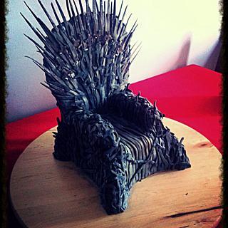 Game of thrones, iron throne
