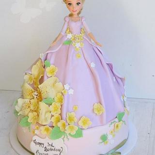 Rapunzel Cake - Cake by Sara