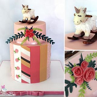 Rocking Horse  - Cake by SmartieBox Cake Studio
