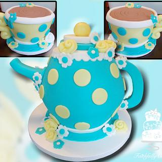 Tiffany Blue Tea Party Shower