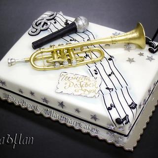Trumpet Cake