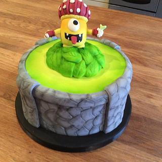 Sky landers cake - Cake by Martina Kelly