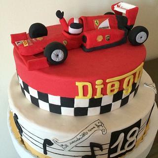 Ferrari  - Cake by Le Pam Delizie