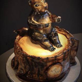 Groundhog Wedding Cake