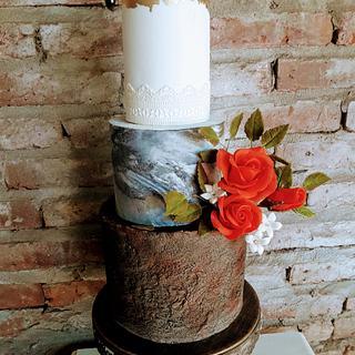 Pastel  Rustico!! - Cake by Alejandra Santillán