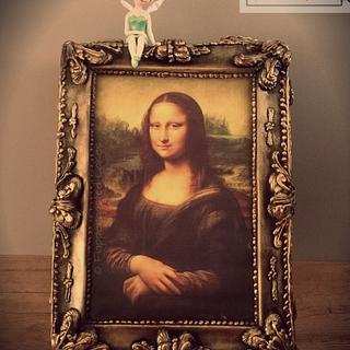 Mona Lisa has company - Cake by Flappergasted Cakes