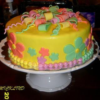 Birthday cake - Cake by Linda