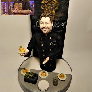 Hungarian Master Chef  - realistic figure