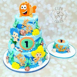 Bubble Guppies 1st Birthday