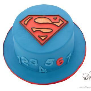 Superhero - Cake by Olivia's Bakery