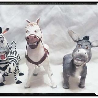 animals i made...