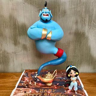 Aladdin Defying cake