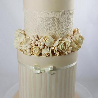 Apricot and Ivory