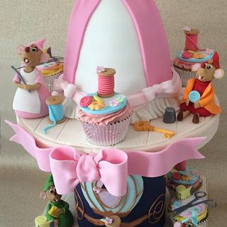Cinderalla Cake & Cupcakes