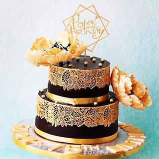 Platinum Jubilee Cake