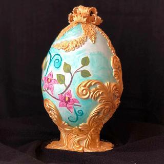 CATTLEYA Fabergé Easter Egg - Easter Faberge egg challenge by Bakerswood