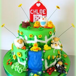 Chloe's farm cake