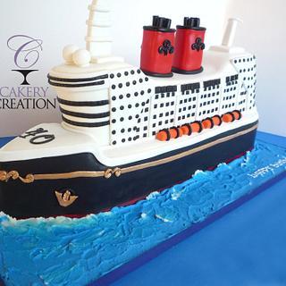 Miraculous Cruise Ship Cake 18 Cakes Cakesdecor Funny Birthday Cards Online Necthendildamsfinfo