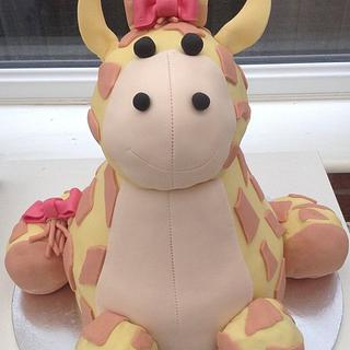 Giraffe cake - Cake by Hellocupcake