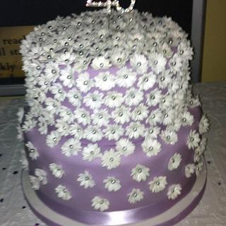 Daisy Cake - Cake by salco