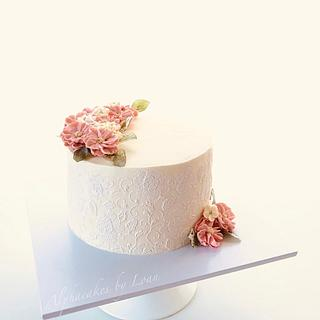 Wedding Anniversary Cake - Cake by Loan Phan
