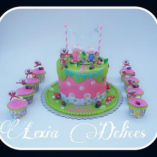 pegga The Pig Cake - Cake by Lexia Delices