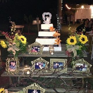 My first wedding - Cake by Jenifer Crespo-Martinez