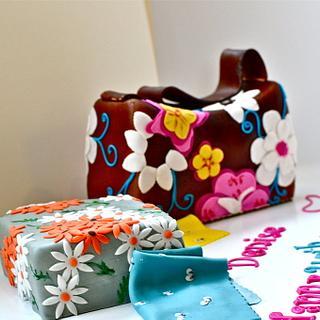 Surprise Purse & Fabric Cake!