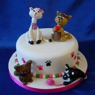 Cat Cake - Cake by Bonnie151