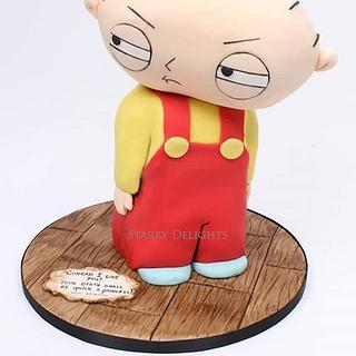 Stewie Family Guy Cake - Cake by Starry Delights