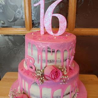 Pretty In Pink Sweet 16