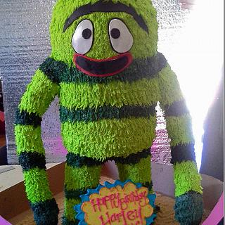 Brobee 3D cake - Cake by Crys