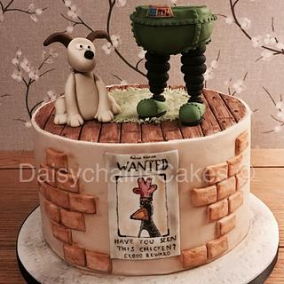 The Wrong Trousers - Cake by Daisychain's Cakes