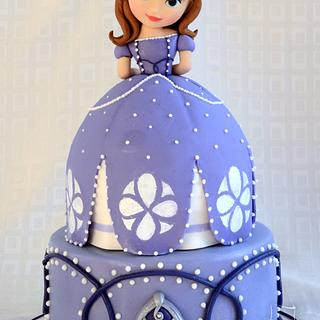Sofia the First Cake - Cake by The Cakerie Cebu