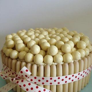 White Malteser Cake - Cake by Shereen