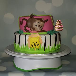 Animals cake - Cake by Pluympjescake