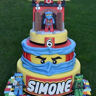Lego Ninjago - Cake by Dolcidea creazioni