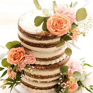 Naked Vegan Cake