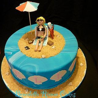 Jersey Girl Beach Cake