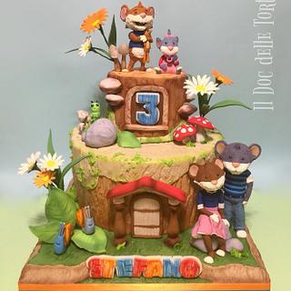 Topo Tip cake - Cake by Davide Minetti