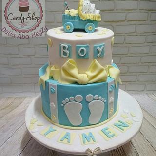 Cake Shawer baby