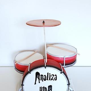 Drum set cake 🤗