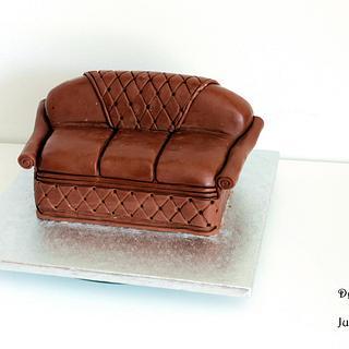 sofa cake - Cake by Judit
