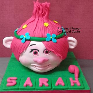 Poppy trolls - Cake by Isabel costa