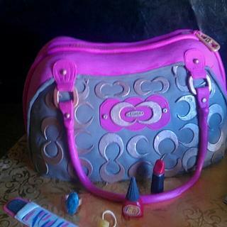 first purse cake - Cake by Robin Meyers